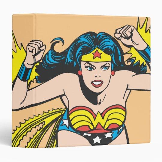 Wonder Woman Glowing Cuffs Binder