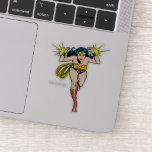 Wonder Woman Glowing Cuffs Sticker