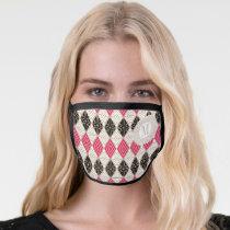 Wonder Woman Greek Pattern Face Mask