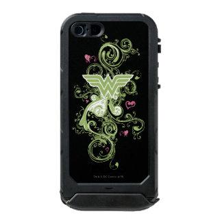 Wonder Woman Green Swirls Logo Incipio ATLAS ID™ iPhone 5 Case