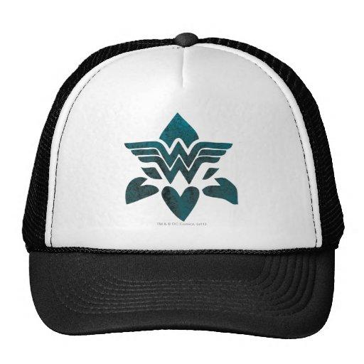 Wonder Woman Grunge Logo Hat