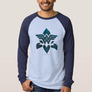 Wonder Woman Grunge Logo T Shirt