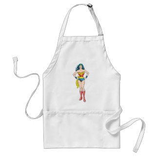 Wonder Woman Hands on Hips Adult Apron