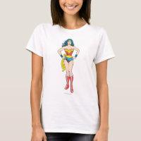 Wonder Woman Hands on Hips T-Shirt