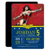 Wonder Woman | Happy Birthday Invitation