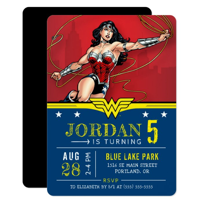 Wonder Woman Hy Birthday