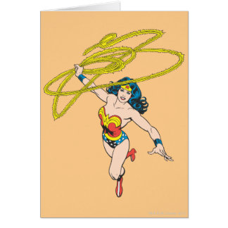Wonder Woman Holds Lasso 2 Card