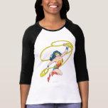 Wonder Woman Holds Lasso 3 Shirt