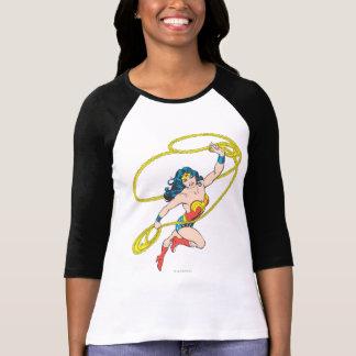 Wonder Woman Holds Lasso 3 T-Shirt