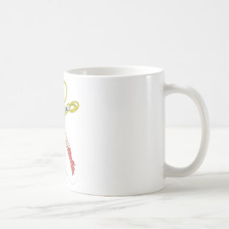 Wonder Woman Holds Lasso 4 Coffee Mug