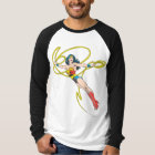 Wonder Woman Holds Lasso 4 T-Shirt