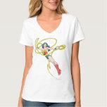 Wonder Woman Holds Lasso 4 T-shirt