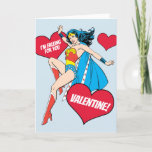 Wonder Woman | I'm Falling For You Valentine Holiday Card