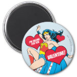 Wonder Woman | I'm Falling For You Valentine Magnet
