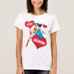 Wonder Woman | I'm Falling For You Valentine T-Shirt