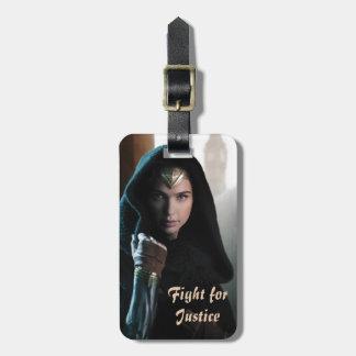 Wonder Woman in Cloak Bag Tag