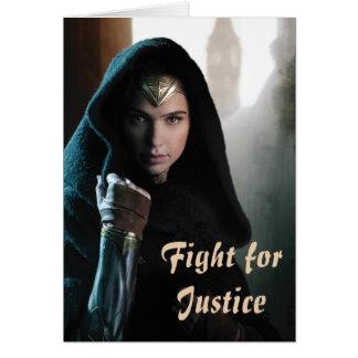 Wonder Woman in Cloak Card