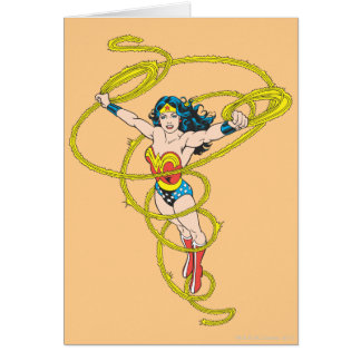 Wonder Woman in Lasso Card