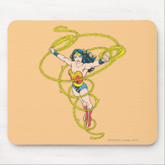 Wonder Woman in Lasso Mouse Pad