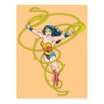 Wonder Woman in Lasso Post Cards