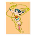 Wonder Woman in Lasso Postcard