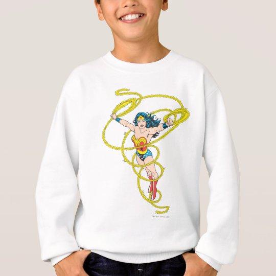 Wonder Woman in Lasso Sweatshirt