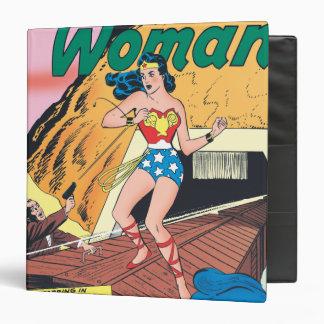 Wonder Woman Invisible Trail Binder