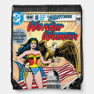 Wonder Woman Issue #272 Drawstring Backpack