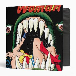Wonder Woman Jaws Vinyl Binder