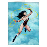 Wonder Woman & Lasso of Truth Card