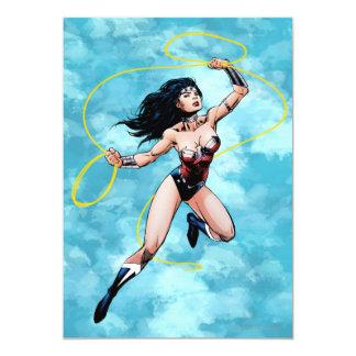 Wonder Woman & Lasso of Truth Personalized Invite