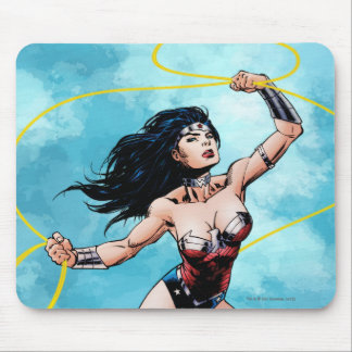 Wonder Woman & Lasso of Truth Mouse Pad