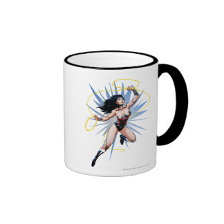 Wonder Woman & Lasso of Truth Ringer Mug