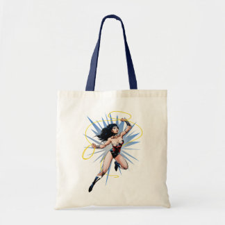 Wonder Woman & Lasso of Truth Tote Bag