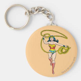 Wonder Woman Lasso over Head Keychain