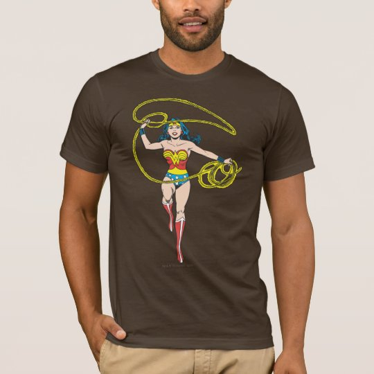 Wonder Woman Lasso over Head T-Shirt
