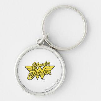 Wonder Woman Logo 1 Keychain