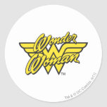 Wonder Woman Logo 1 Round Sticker
