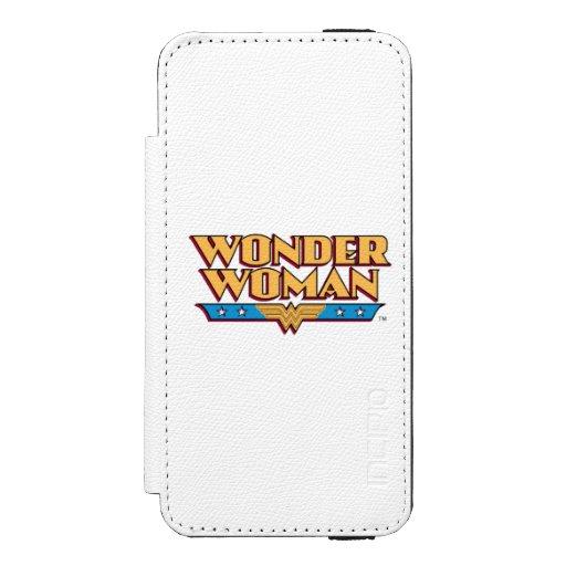 Wonder Woman Logo 2 Wallet Case For iPhone SE/5/5s