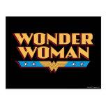 Wonder Woman Logo 2 Postcard