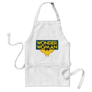 Wonder Woman Logo 3 Adult Apron