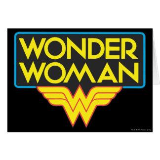 Wonder Woman Logo 3 Card
