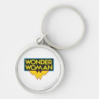 Wonder Woman Logo 3 Keychain