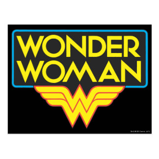 Wonder Woman Logo 3 Postcard