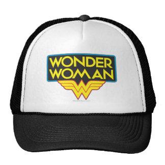Wonder Woman Logo 3 Trucker Hat