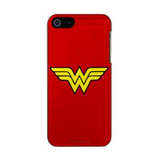 Wonder Woman Logo Metallic iPhone SE/5/5s Case