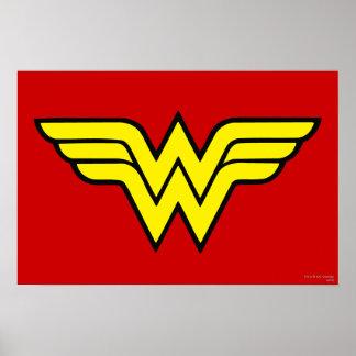 Wonder Woman Logo Poster