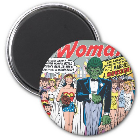 Wonder Woman Married a Monster Magnet