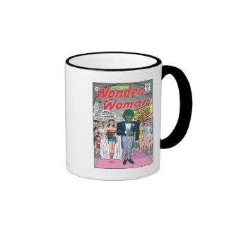 Wonder Woman Married a Monster Ringer Mug