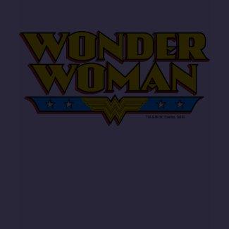 Wonder Woman Name and Logo shirt